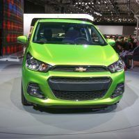 2016 Chevrolet Spark Front Fascia