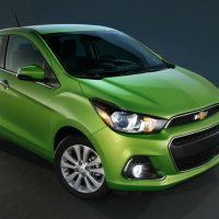 2016 Chevrolet Spark Left Front Three Quarters 2