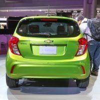2016 Chevrolet Spark Rear Fascia