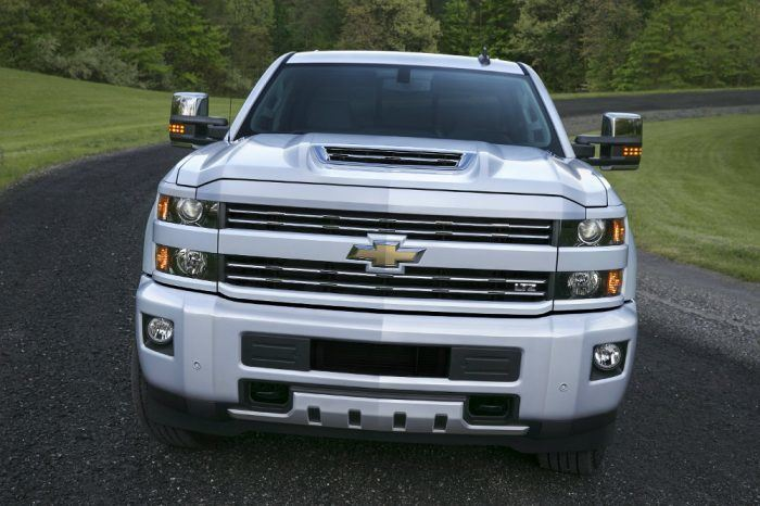 2017 Silverado HD. Photo: Chevrolet