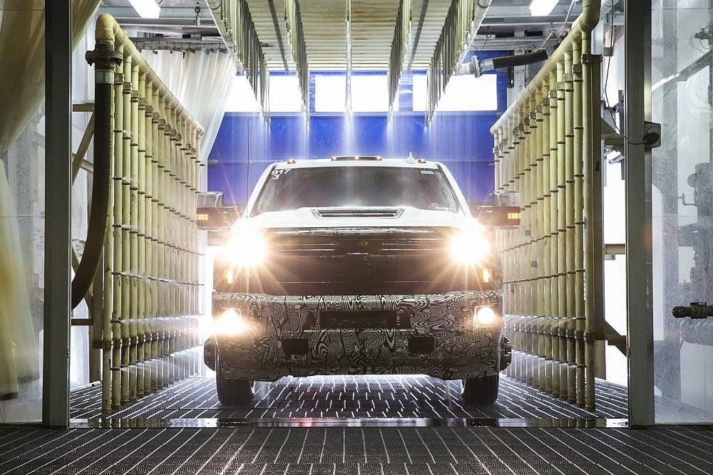 2017 Chevrolet Silverado HD Air Intake Testing 01