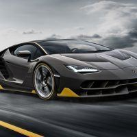 2017 Lamborghini Centenario Right Front Three Quarters