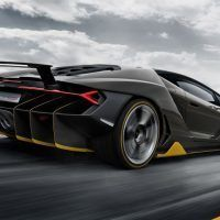 2017 Lamborghini Centenario Right Rear Three Quarters