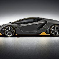 2017 Lamborghini Centenario Left Side Profile