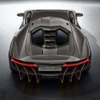2017 Lamborghini Centenario Overhead Rear Fascia