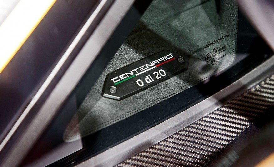 2017 Lamborghini Centenario LP770 4 210