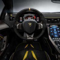 2017 Lamborghini Centenario Steering Wheel