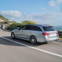 2017 Mercedes-Benz E400 4MATIC Wagon Left Rear Three Quarters