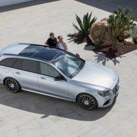 2017 Mercedes-Benz E400 4MATIC Wagon Top View