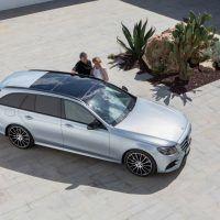 2017 Mercedes-Benz E400 4MATIC Wagon Top View