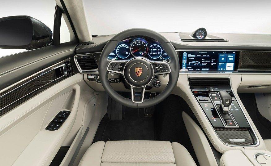2017 Porsche Panamera Turbo Steering Wheel Photo On