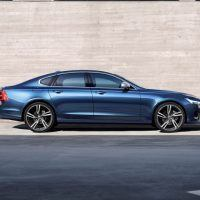 2018 Volvo S90 R-Design Right Side Profile