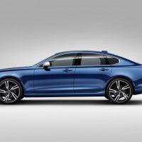 2018 Volvo S90 R=Design Left Side Profile