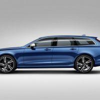 2018 Volvo V90 R-Design Left Side Profile