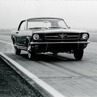 While the Mustang looked sporting, its on-track performance was far from sporty. Archives/TEN: The Enthusiast Network Magazines, LLC.
