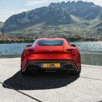 Aston Martin Vanquish Zagato Rear Fascia