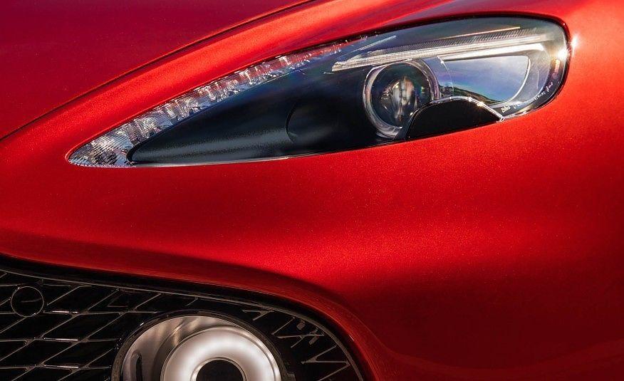 Aston Martin Vanquish Zagato Headlight Photo On Automoblognet - Aston martin headlights