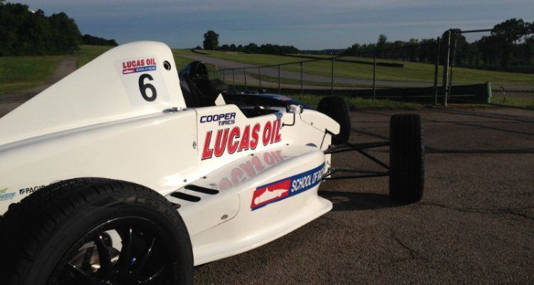 Image of Lucas Oil race car