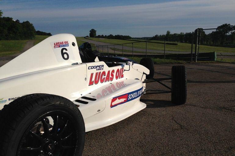 Image of Lucas Oil race car