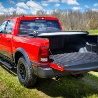 Mopar Ram Rebel Tailgate Open