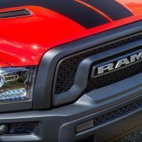 Mopar Ram Rebel Grille Badge and Hood Stripes