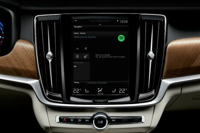 Volvo XC90 Sensus Touchscreen Multimedia/Connectivity Tech. Photo: Volvo Car Group
