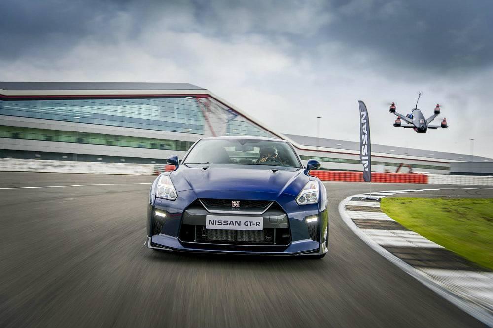 Nissan GT-R Drone Races An Actual Nissan GT-R (Video)