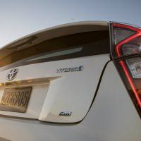 2016 Toyota Prius Two Eco Close Rear Profile