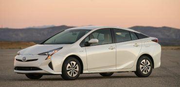 2016 Toyota Prius Two Eco Driver's Side Profile