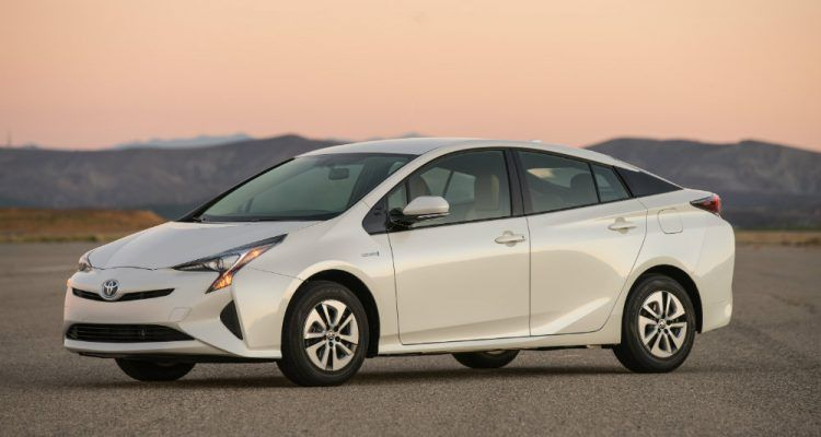 2016 Toyota Prius Two Eco Driver's Side Profile
