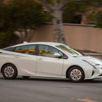 2016 Toyota Prius Two Eco Passenger Side Profile