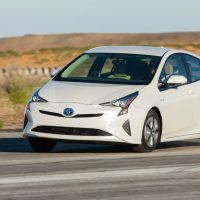 2016 Toyota Prius Two Eco Road Drive