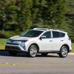 2016 Toyota RAV4 Limited Driving