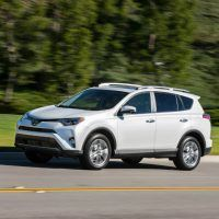 2016 Toyota RAV4 Limited Driving