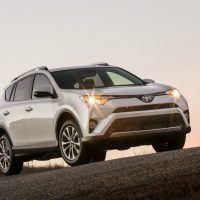 2016 Toyota RAV4 Limited Headlight Profile
