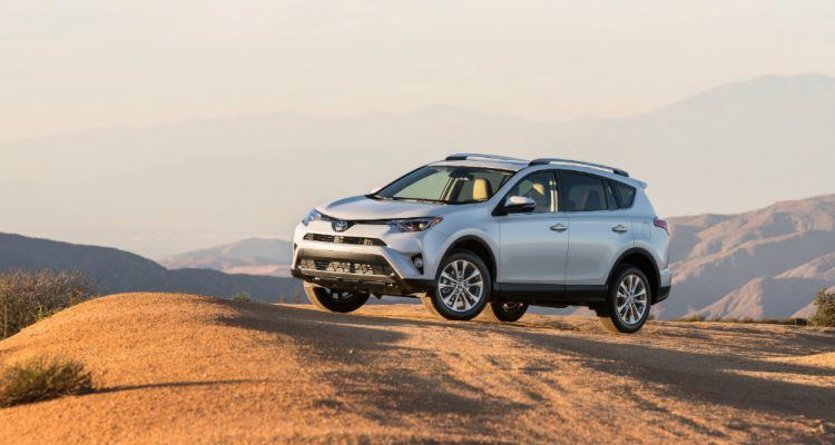 2016 Toyota RAV4 Limited Off-Road Profile