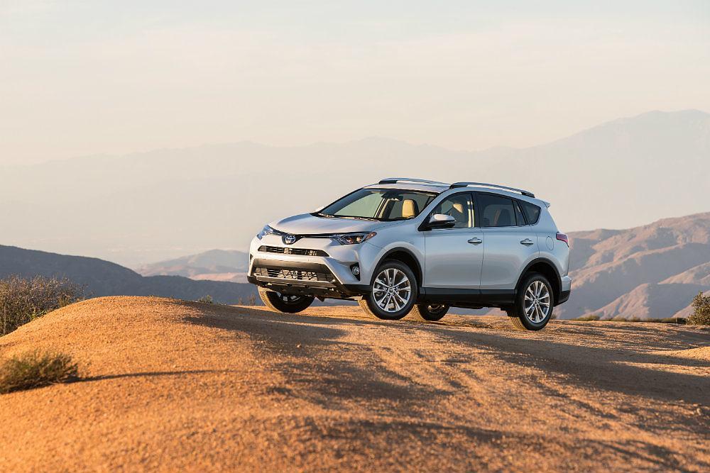 2016 Toyota RAV4 Limited Off Road Profile