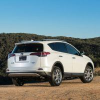 2016 Toyota RAV4 Limited Rear Profile