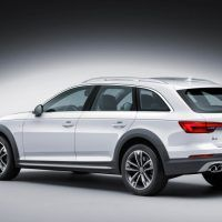 2017 Audi Allroad Left Rear Three Quarters