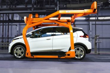 2017 Chevrolet Bolt EV Production