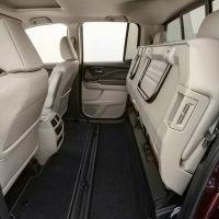 2017 Honda Ridgeline Rear Seats Folded Up