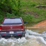 2017 Honda Ridgeline Through Water