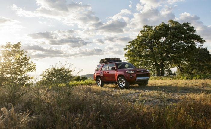 2017 Toyota 4Runner TRD Off-Road Premium Profile Shot