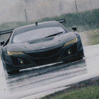 ACURA NSX GT3 In Rain