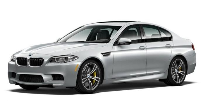 BMW M5 Pure Metal Silver Limited Edition Front Profile
