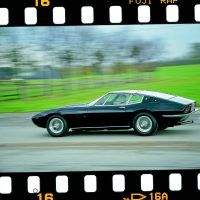 Ferrari's on-road performance supremacy was under threat as never before in the late 1960s. The world was caught up in the allure of glamor and speed, and cars such as a properly optioned Maserati Ghibli (pictured) could touch 160 miles per hour, while the Miura was exceeding 170 in road tests. Photo by Winston Goodfellow