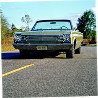 This 1966 Plymouth Belvedere convertible with its 426 Hemi automatic is one of only six built. Mike Mueller