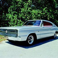 It might have just been a Coronet with an artistically grafted-on fastback, but the 1966 Charger was still a striking design. Mike Mueller