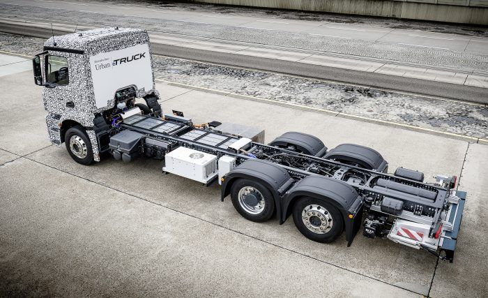 Mercedes-Benz Urban eTruck Chassis