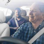 Uber Driver & Passenger Los Angeles
